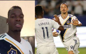 WATCH: Paul Pogba sends hilarious congratulatory message to Zlatan Ibrahimovic after 500th goal