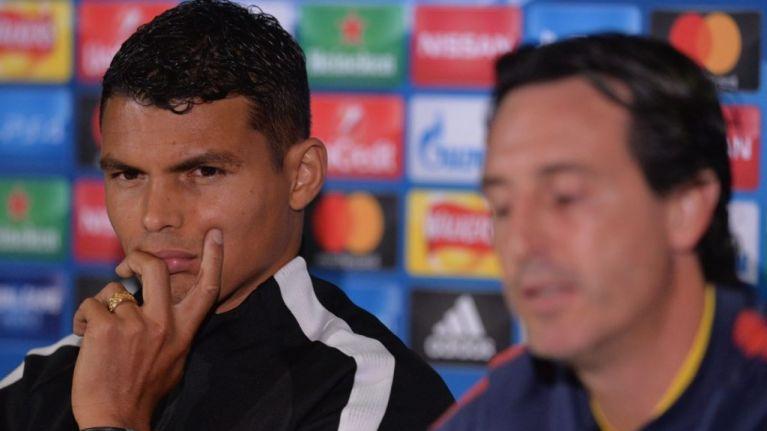 Thiago Silva takes aim at Unai Emery in pre-match press conference