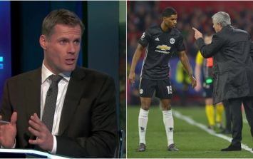 Jamie Carragher clarifies what he meant by Marcus Rashford comment