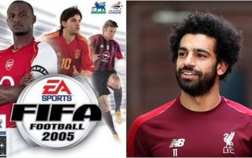 Mohamed Salah reveals the four players he always selected when playing Fifa 2005