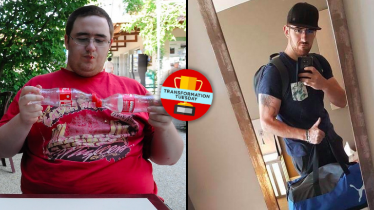 Lorry driver loses 13 stone through sustainable diet plan