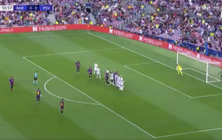 WATCH: Lionel Messi scores outrageous free kick for Barcelona in Champions League tie vs PSV