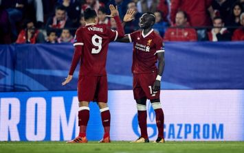 The text Sadio Mane sent Roberto Firmino to convince him to play against PSG