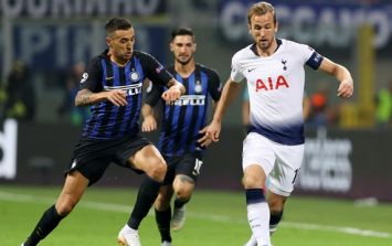 Design flaw in Spurs' kit against Inter Milan was hugely unpopular