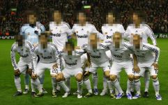 QUIZ: Name Real Madrid's last Champions League squad before they signed Cristiano Ronaldo