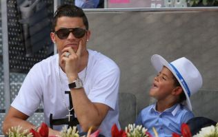 Cristiano Ronaldo Jr believes he can become a better footballer than his dad