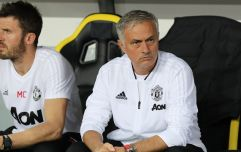 Jose Mourinho let his true thoughts out on Young Boys' pitch after the game