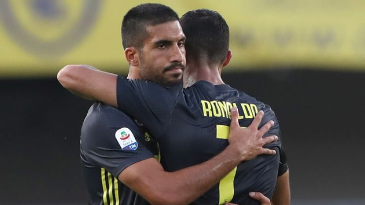 Emre Can apologises for comments made after Cristiano Ronaldo's red card