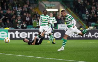 WATCH: Celtic Park erupts as Leigh Griffiths' heads late winner