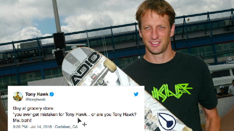 tony hawk tweets every time someone doesn t recognise him and it s