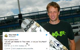 Tony Hawk tweets every time someone doesn't recognise him and it's hilarious