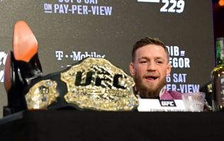 Conor McGregor did his research ahead of UFC 229 press conference