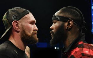 Date revealed for Tyson Fury's world title fight with Deontay Wilder