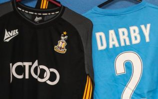 Bradford City wear special warm-up shirts in tribute to Stephen Darby