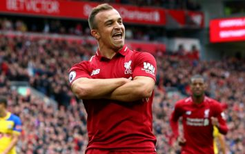 Livewire Xherdan Shaqiri earns the spotlight on his first Liverpool start
