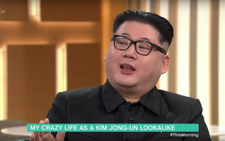 "Kim Jong-un impersonator says he was looking for ""a shag"" live on This Morning"