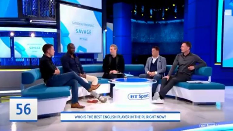 Chris Sutton and Michael Owen disagree on the Premier League's best English player