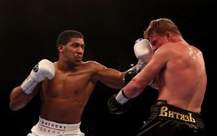 Anthony Joshua shows class by congratulating Alexander Povetkin after fight