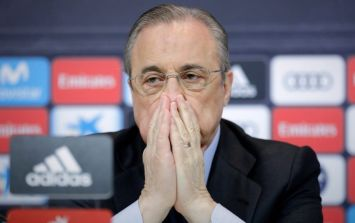 Florentino Perez reveals Real Madrid ultras put graffiti on his wife's grave