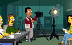 Homer Simpson destroys the DC movies in clip from the new series