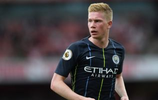 Kevin De Bruyne could be back from injury in time for the Manchester derby