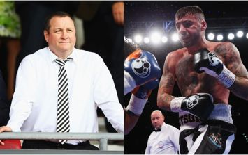Geordie boxer ordered to remove Newcastle badge from his clothes