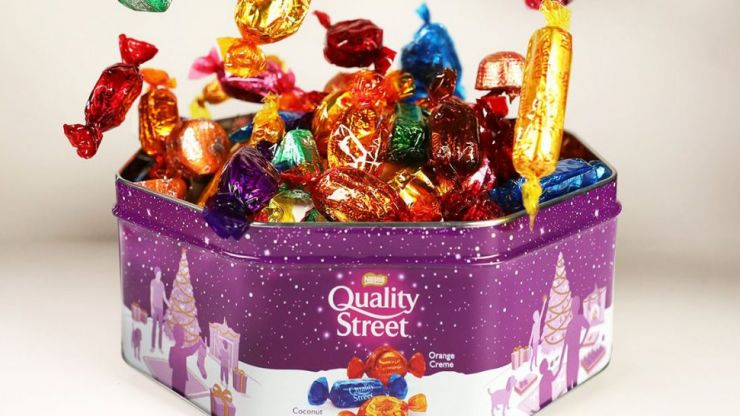 Build your own Quality Street tins are now a thing at John Lewis