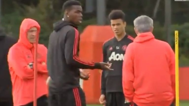 """""""Paul, get out!"""" - Extended footage emerges of the Pogba/Mourinho exchange"""