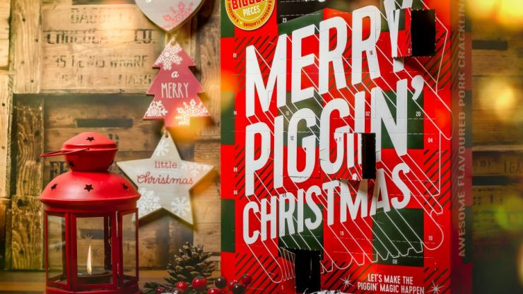 Pork Crackling Advent Calendars Are Now On Sale In