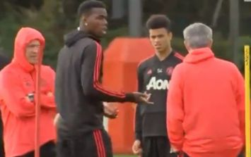 Paul Pogba and José Mourinho have reportedly made up after training ground incident