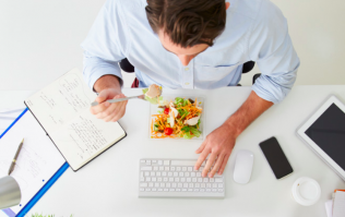 An office worker's guide to weight loss