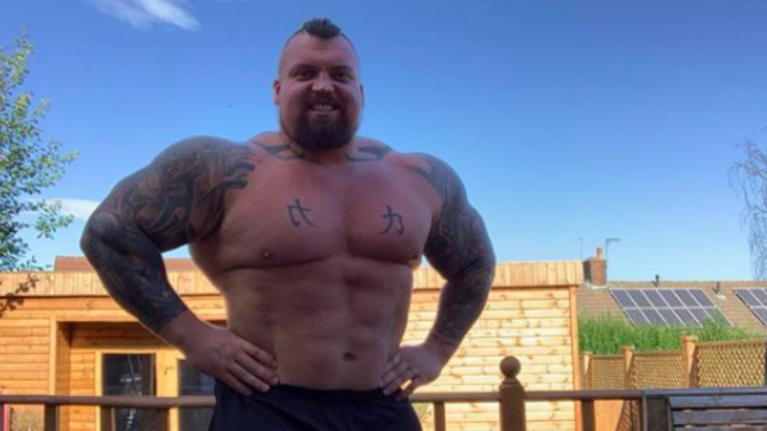 Eddie Hall shares his 25kg weight loss transformation