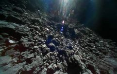 Japanese space agency releases incredible new images after landing on asteroid