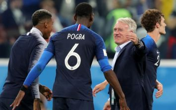 France manager praises Paul Pogba's leadership and insists he cannot win games alone