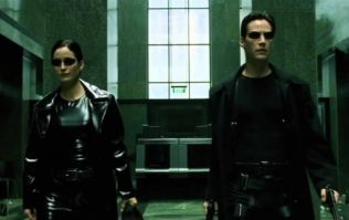 The Matrix lobby shoot-out with only sound effects and the music removed is pretty incredible