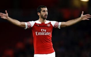 Henrikh Mkhitaryan will miss Arsenal's Europa League trip to Qarabag