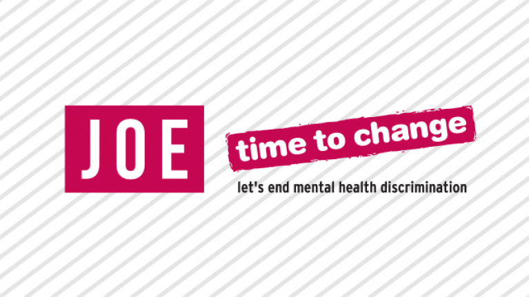 JOE is turning pink for Time to Change's 'Ask Twice' mental health campaign