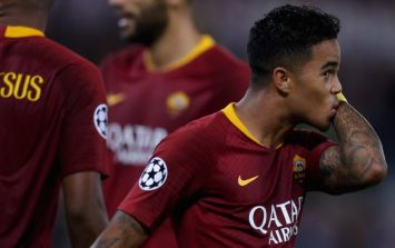 Justin Kluivert pays tribute to Abdelhak Nouri after scoring in Champions League tie