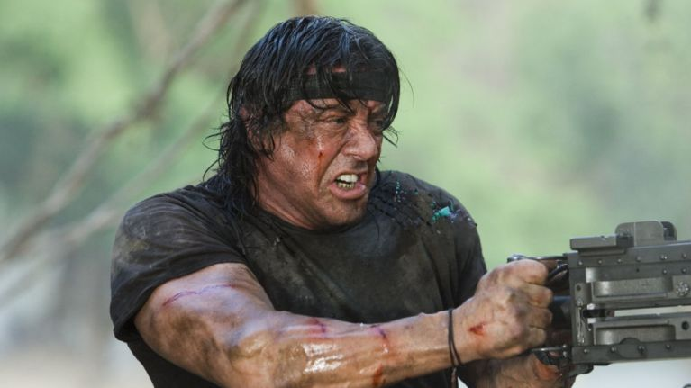 Sylvester Stallone reveals the first images of him in Rambo 5