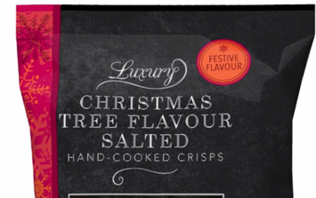 Iceland are selling Luxury Christmas Tree flavour crisps because you can never go too far