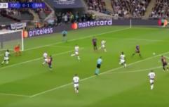 WATCH: Ivan Rakitić scores stunning goal against Tottenham Hotspur