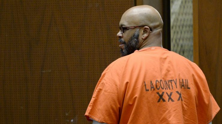 Suge Knight transferred to California State prison for manslaughter sentence