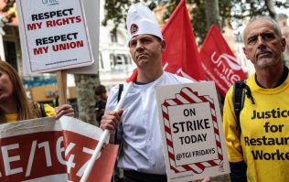 UberEats, Deliveroo, McDonald's, Wetherspoons and TGI Fridays workers are striking today