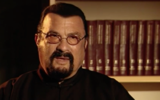 Steven Seagal storms out of live BBC interview after being questioned over sex abuse allegations
