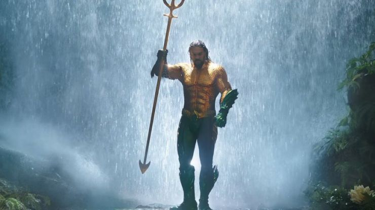 Fans are going wild for the extended Aquaman trailer