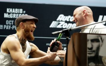 Thursday night's UFC press conference was an absolute sh*t show