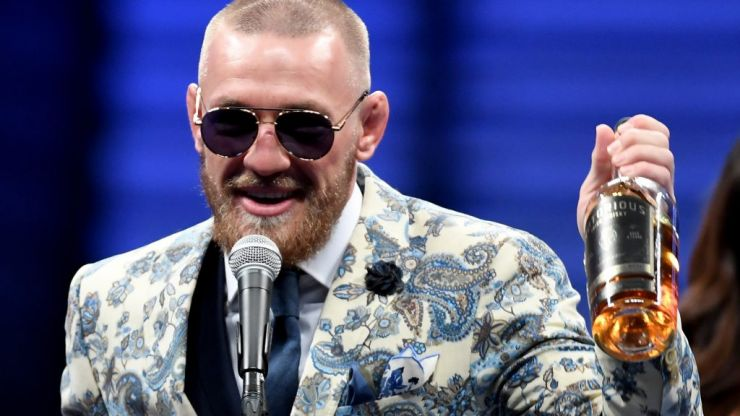 Why is Conor McGregor's whiskey called Proper 12 and sponsoring UFC 229?