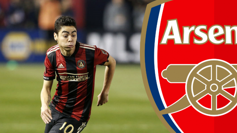 Father of MLS star Miguel Almiron confirms Arsenal's interest is real