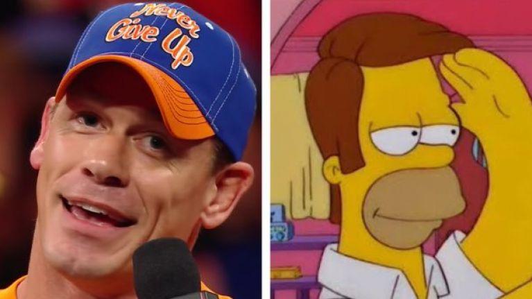 John Cena has a new haircut and it's very, very odd