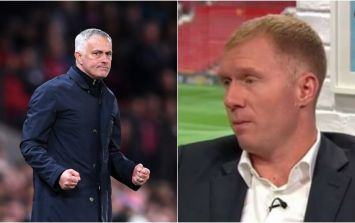 Paul Scholes took umbrage with Jose Mourinho's comments on Rashford and McTominay
